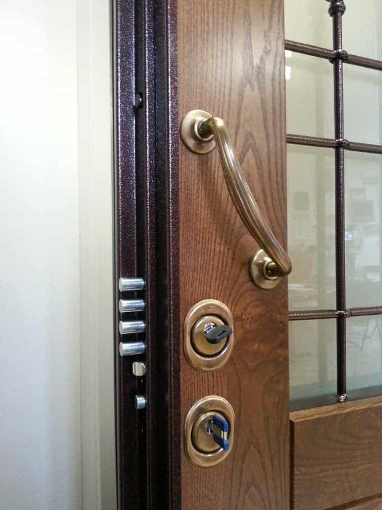Sostituzione serratura doppia mappa in cilindro europeo - Doppia serratura porta blindata ...